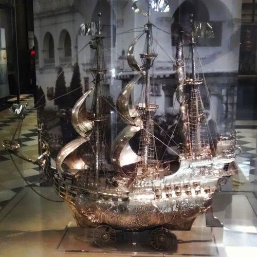 Evo3d Kelvingrove Art Gallery museum silver ship