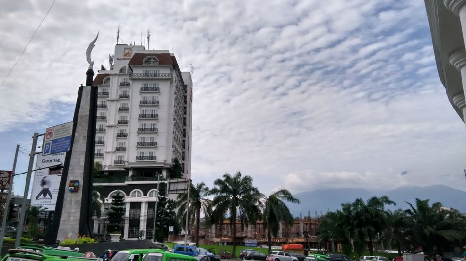 Tugu Kujang Gunung Salak Mount Salak Hotels And Resorts Landmark Cloud - Sky City Sky Built Structure Architecture Outdoors Day Nature Tree Bogor, Indonesia Adapted To The City