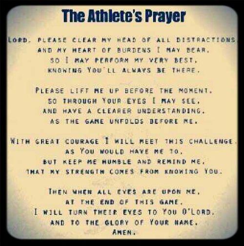#AthletesPrayer