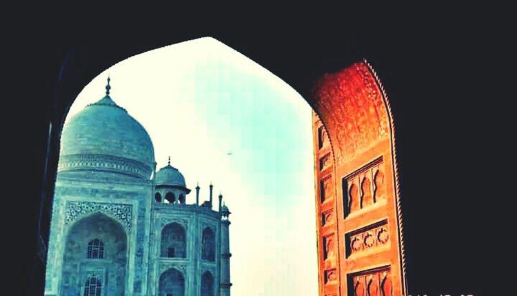 Wonder Sensation Beauty Taj Mahal Manmadewonder 7wonders SignOfLove Photography Colors Cobalt Blue By Motorola
