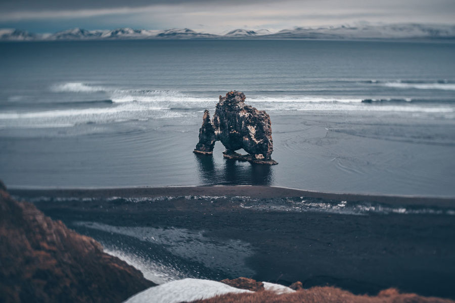 Hvítserkur Rock, Iceland Burnside 35 Iceland Iceland Memories Icelandic Nature Lensbaby Burnside Rock Vatnsnesvegur Beach Black Sand Burnside  Hvítserkur Iceland_collection Lensbaby  Ocean Water