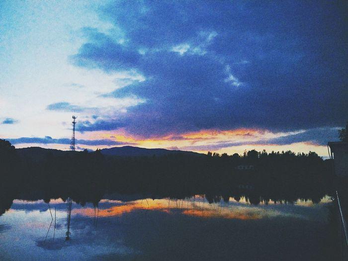 Sky Cloud - Sky Beauty In Nature Environment Tranquil Scene 蓝天依旧 喜你不走