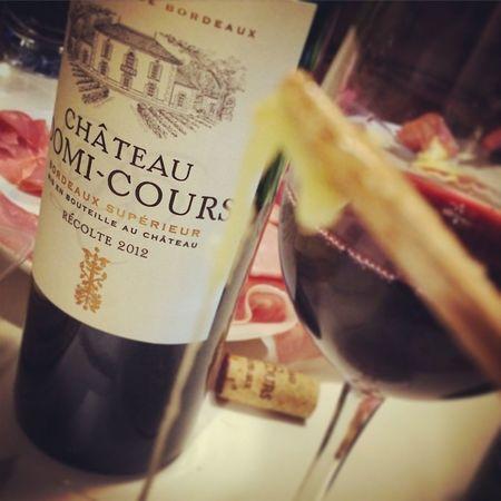 Heureusement ya aussi de quoi désaltérer. Wino Bordeaux Redwine