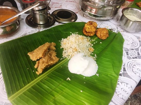 Freshness Food Food And Drink Plate Ready-to-eat Healthy Eating Green Color High Angle View Flower Table No People Indoors  Cultures Day Idly Tradition Foodphotography Food And Drink Chutney India Tamil Culture