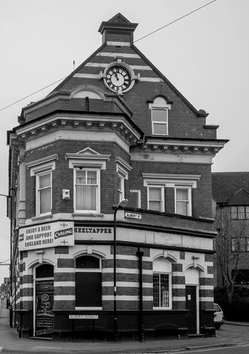 The Wheeltapper, Railway Terrace, Rugby, Warwickshire Architecture Black And White Rugby FUJIFILM X-T10 Rugbytown Warwickshire Monochrome Rugby Pubs Pubs