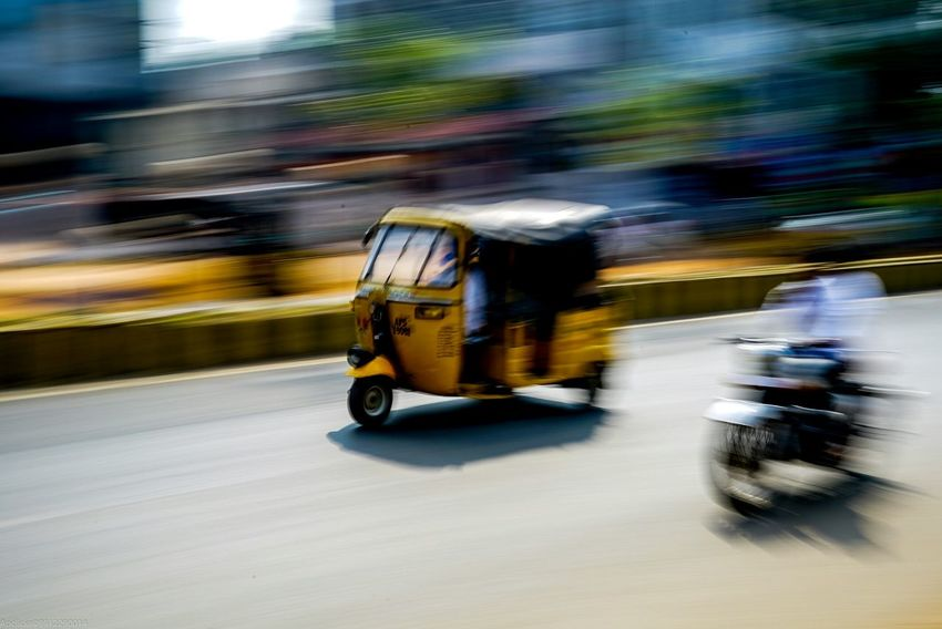 Blurred Motion Motion Speed On The Move Transportation Mode Of Transport Outdoors Day Slowshutter World Slow Shutter Speed Indiapictures India_clicks Indianphotographer Street Photography Streetphotography_bw