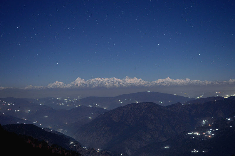 Himalayas Range in moon light... Mountain Mountain Range Sky Scenics - Nature Night Beauty In Nature Tranquil Scene Star - Space Nature Tranquility Idyllic Blue Environment No People Landscape Space Astronomy Non-urban Scene Outdoors Snowcapped Mountain Mountain Peak