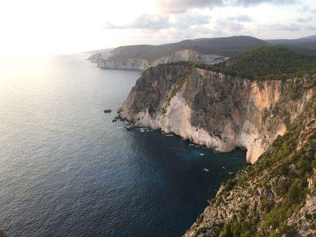 At the end of the day. (1) Greece Photos Zakynthos Island Nature Scenics Water Beauty In Nature Rock - Object Tranquility Landscape