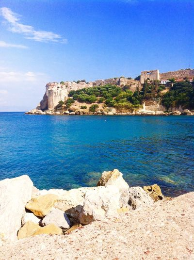 Blue Water Nature Sea Sky Day Beauty In Nature Greece Ruine History Koroni Love Holiday 2016 I'll Be Back