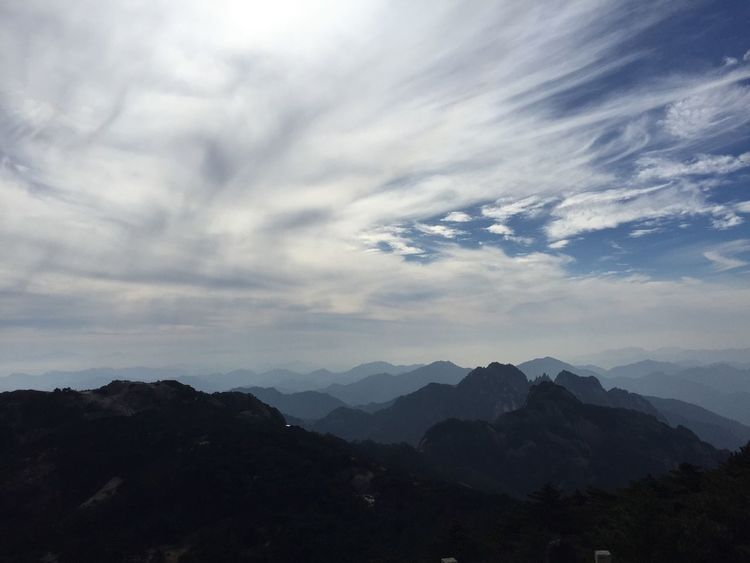 Mountains Huangshan Clouds And Sky Getty X EyeEm Travel Photography EyeEm Best Shots Sky_collection The Traveler - 2015 EyeEm Awards