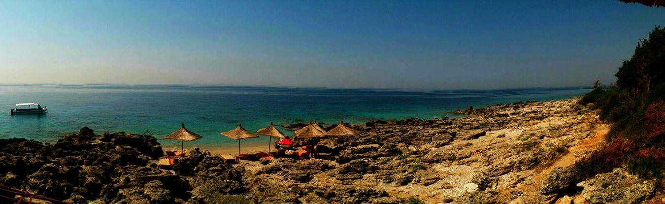 LovelyAlbania Beachphotography Relaxing View PhonePhotography Durres Albania