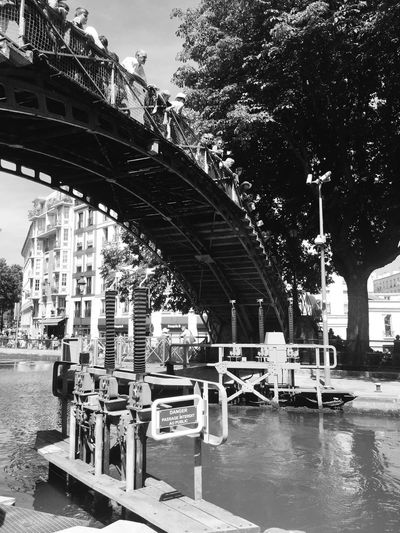 Cityscapes Paris Eye4photography  Open Edit EyeEm Best Shots Blackandwhite Black & White Black And White Bridge