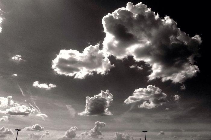 Clouds Black & White Blackandwhite Black And White