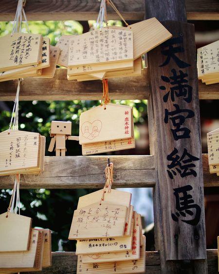 (^-^)✌︎︎ Danbo EMA EyeEm Gallery Cheese! Japanese Shrine Tree