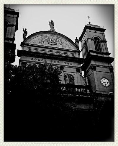 Street Photography Church (: Samsung Galaxy S III Blackandwhite Photography