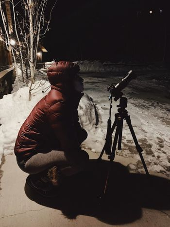trying to capture the blood moon lunar eclipse. 🌙 🌚 Wasatch Mountains Utah Lunar Eclipse Blood Moon Eclipse