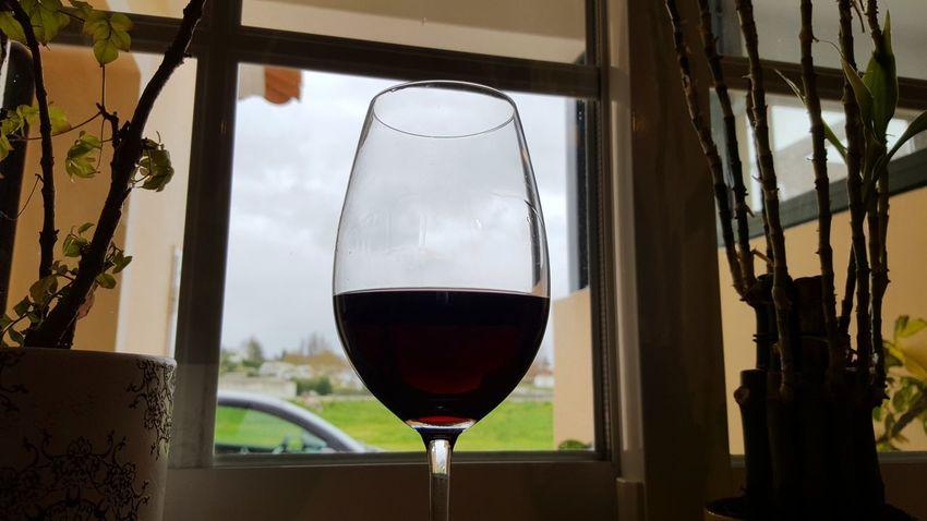 Red Wine Alentejo Rainy Days Wineglass
