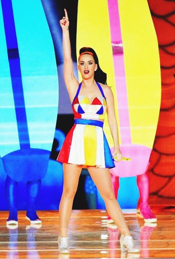Katy perry super bowl hafe time