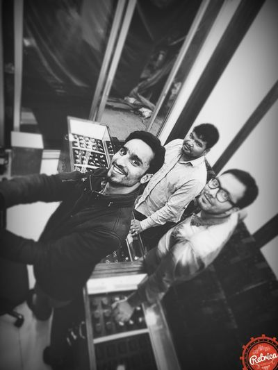 That's Me Taking Photos With My Workers No Words!! Just A Photo At Showroom Selfie ✌
