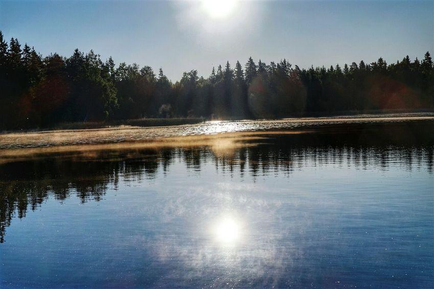Littoisten Järvi Beauty In Nature Close-up Outdoors Sunlight Sunrise_sunsets_aroundworld