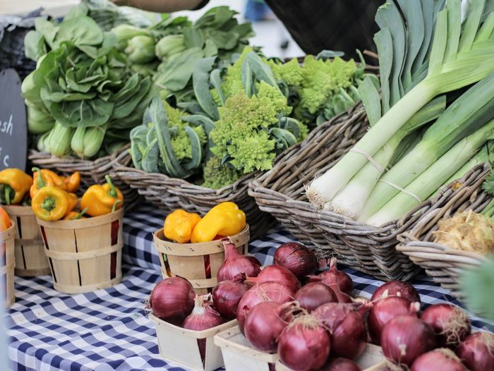 vegetables on a table Basket Vegetable Variation Healthy Eating Food And Drink Freshness Food Market Choice Farmers Market Retail  No People Outdoors Day Quality Artichoke Food Stories