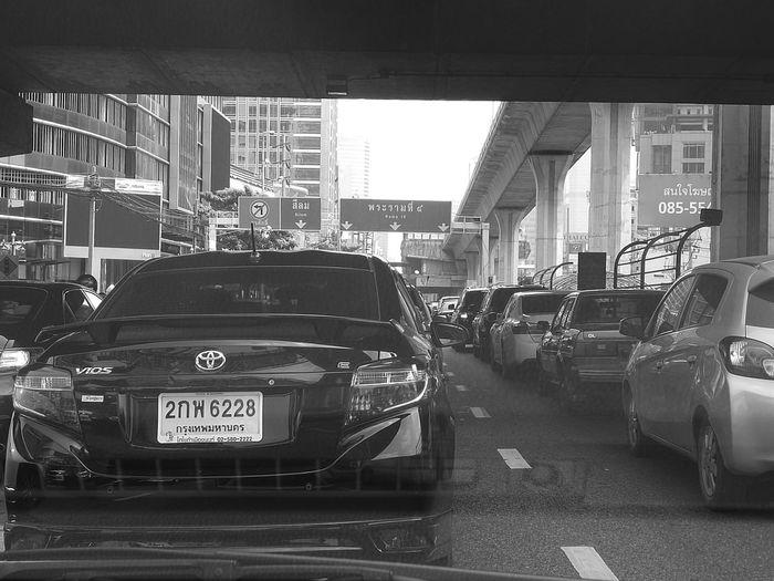 Bangkok Road Transportation City Street City Life