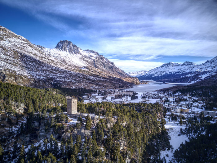 Drone  Aerial Photography Beauty In Nature Cold Temperature Day Dronephotography Frozen Lake Landscape Mountain Mountain Range Nature No People Outdoors Scenics Sky Snow Snowcapped Mountain Tranquil Scene Tranquility Water Winter