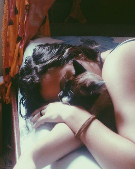 Mike, amorzinho Gatos Sleep Ma Baby So Love