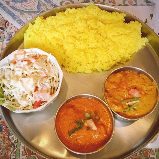 里芋とチキン&ベジタブルカレー☆namaste Carry India インドカレー カレー ターメリックライス