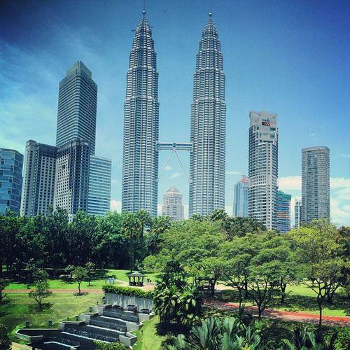 Kuala Lumpur City Center view From Kuala Lumpur Convention center Kuala Lumpur Suria KLCC Klcc Buildings & Sky Malaysia