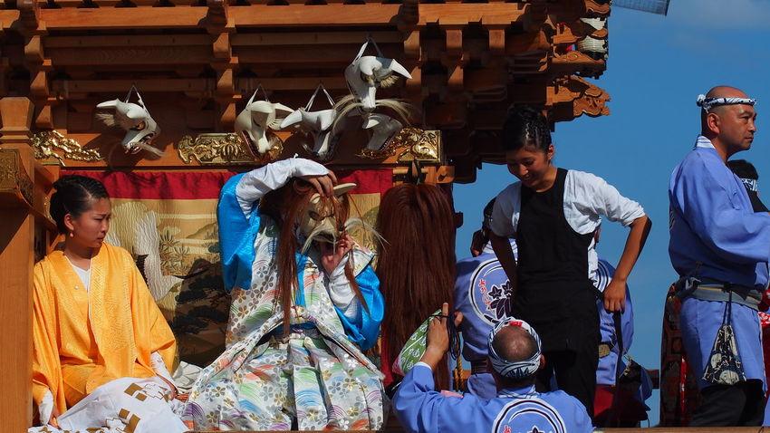 舞の支度 Festival CanonFD  Photowalk Japan #oldlens