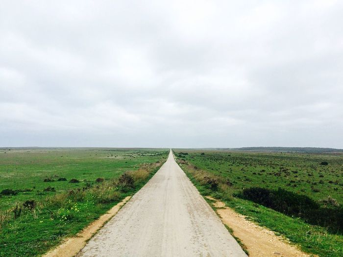 Algarve Portugal Endless Road