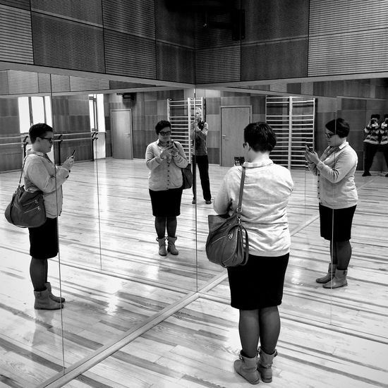 Multiplication Wejherowo 5 December 2015 IPhoneography Iphone 6 Plus Bnw_collection Bnw Reflection Mirrorselfie Wejherowo Poland Streetphotography Streetphoto_bw EyeEm Best Shots EyeEm Masterclass People Photographer