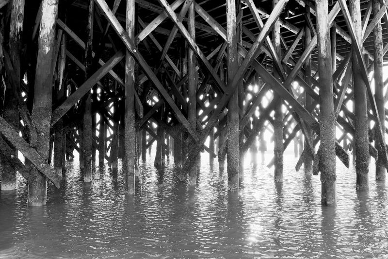 Water Architecture Nature Built Structure Day Pattern Reflection