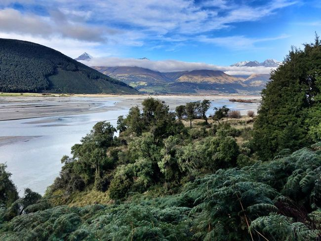 Explore New Zealand Great Outdoors Exploring Plant Water Sky Tree Cloud - Sky Nature Sea Beauty In Nature Mountain Scenics - Nature Tranquil Scene Tranquility Outdoors