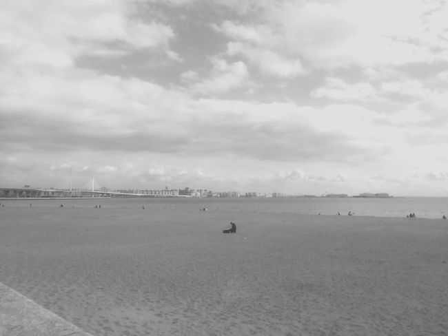 Water Sky Cloud - Sky Land Beach Sea Scenics - Nature