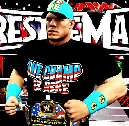 The Champ is ln WWE 2K16