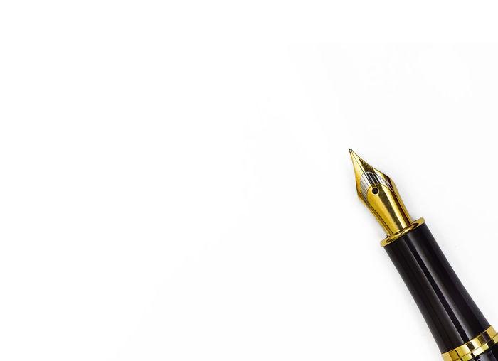 A pen white