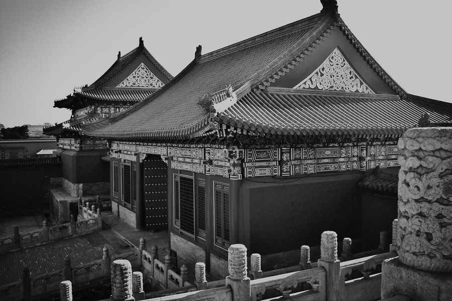 Beijing China Blackandwhite Photography Monochrome Black And White Cytywordwide Cityscapes Hello World Hi! Blackandwhitephotography