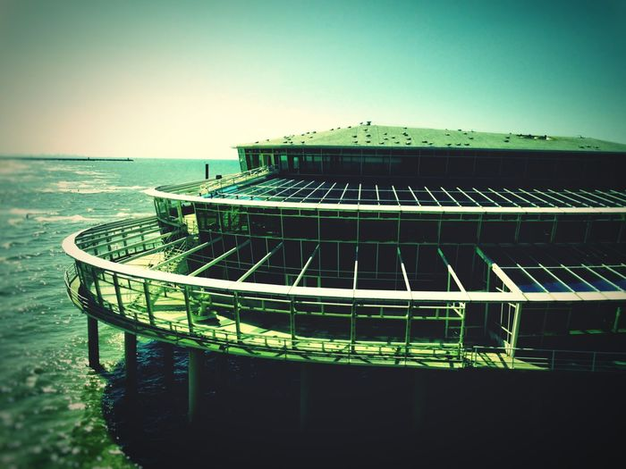 Moments of Glory are Long Gone... Pavilion Peer Seashore