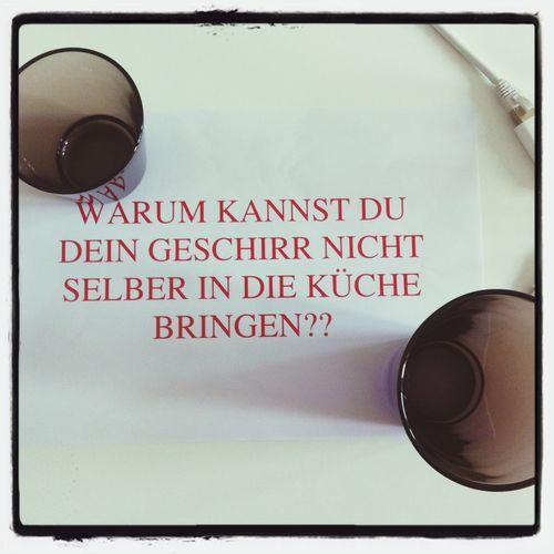Und warum kannst du nur Word? ;) Office Collegue Kehrwoche Typography