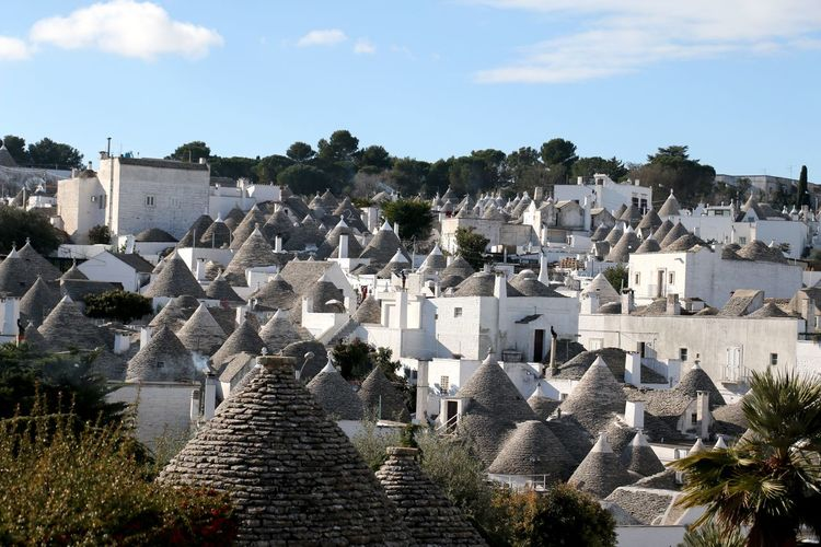 Alberobello Alberobello - Puglia Alberobelloexperience Puglia UNESCO World Heritage Site Ancient Civilization Architecture Building Exterior Built Structure Day History Nature No People Outdoors Sky Travel Destinations Tree