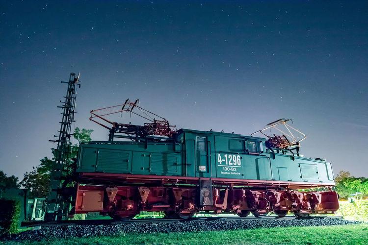 Old Green Train