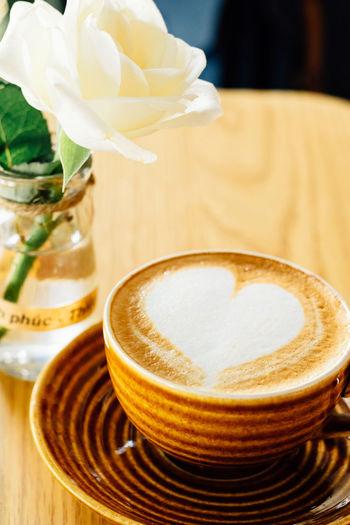 Trung Nguyen Coffee Coffee Coffee - Drink Coffee Cup Cup Flower Flowering Plant Indoors  No People Table