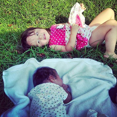 Sisters ❤ My Kids Cuties :)