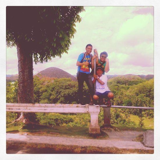 The Three Tarsiers!!! Traveller Tarsier Chocolatehills Beautifulview BeautifulScenery Summer Relax RoadTrip LikeABoss