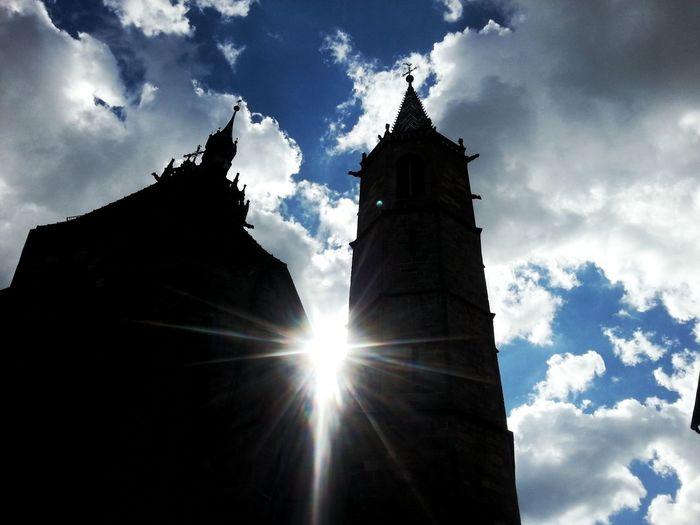 Church Sky And