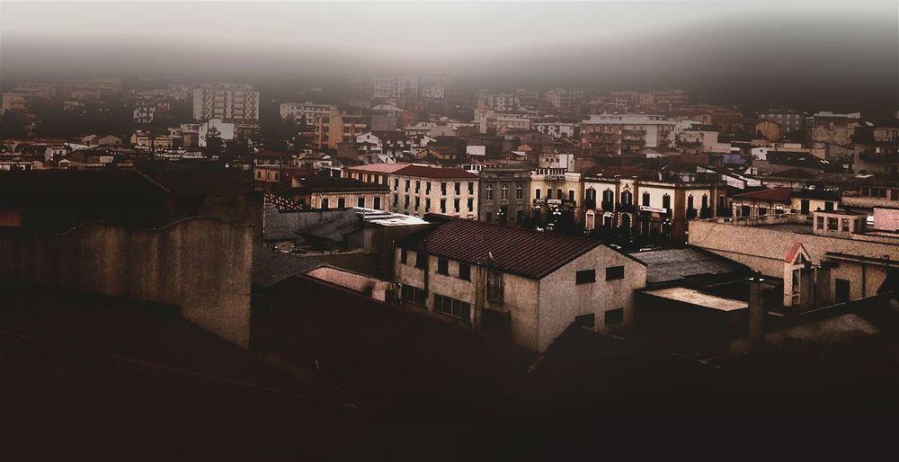 Cityscape City Sky Paesaggio Che Conta Paesaggiostupendo☀ Paese Sud Italia Bellos Momentos Bellobello Bellissima Nebbia,foschia
