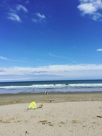 めっちゃ青空になった😉👍☀️青空の下で波乗りしてスッキリ😁✨ 何もかも忘れられる大切で貴重な時間😊✨☀️✨ 海 青空 波乗り サーフィン 癒し 太陽パワー