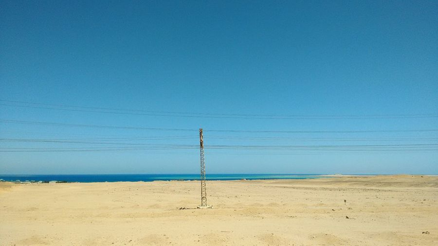 Road To Hurghada Red Sea Minimalist Egypt Blue Sky Turquoise Water The Beautiful Egypt Fine Art Photography the blue sky touching the bluer sea. Moreblue Blue Love Desert Sky Desert
